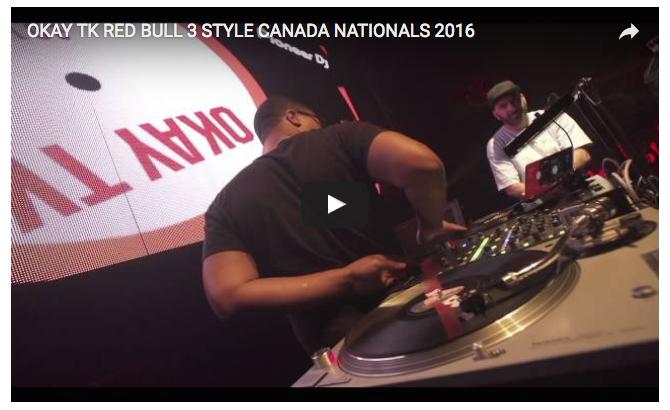 okay tk, redbull national finals, canada