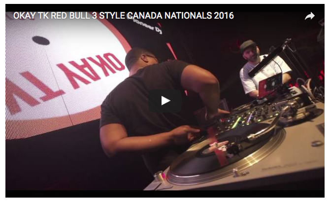 okay tk, redbull national finals, canada